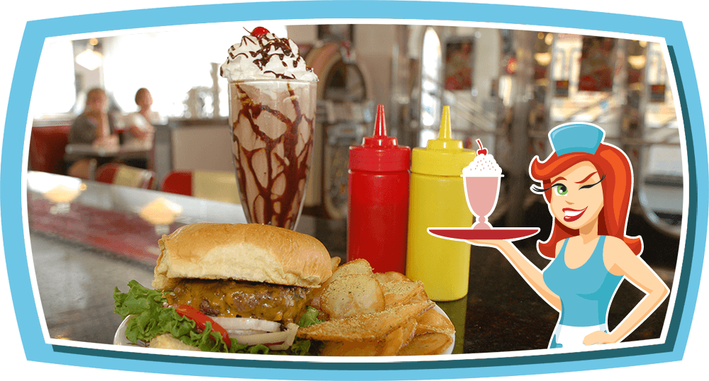 Donna's Diner is the Home of the WinnerBurger