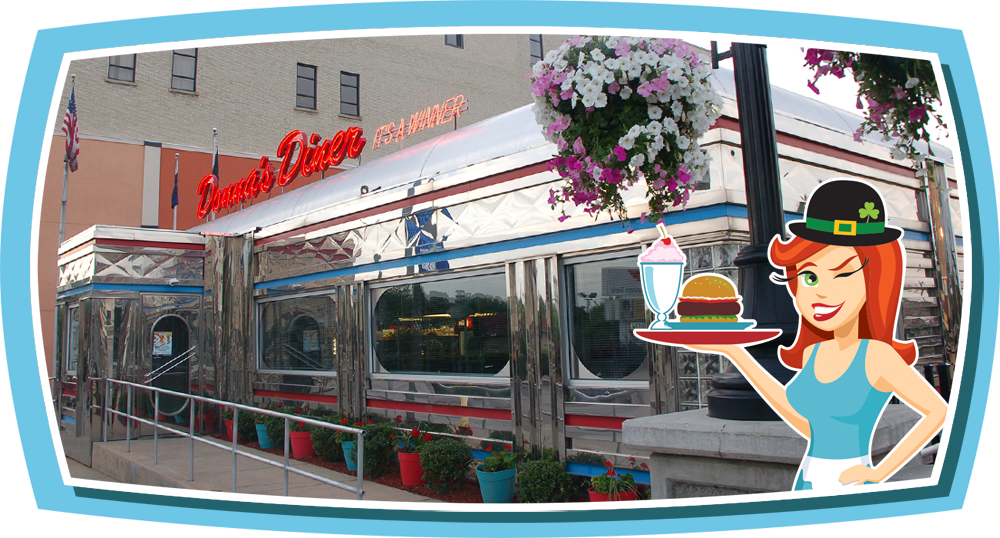 Donna's Diner in Sharon Pennsylvania